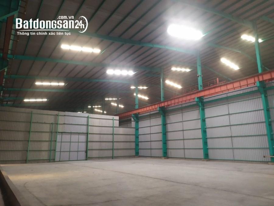 Cần cho thuê kho, nhà xưởng có cảng Quốc tế tại Thị trấn Bến Lức, huyện Bến Lức