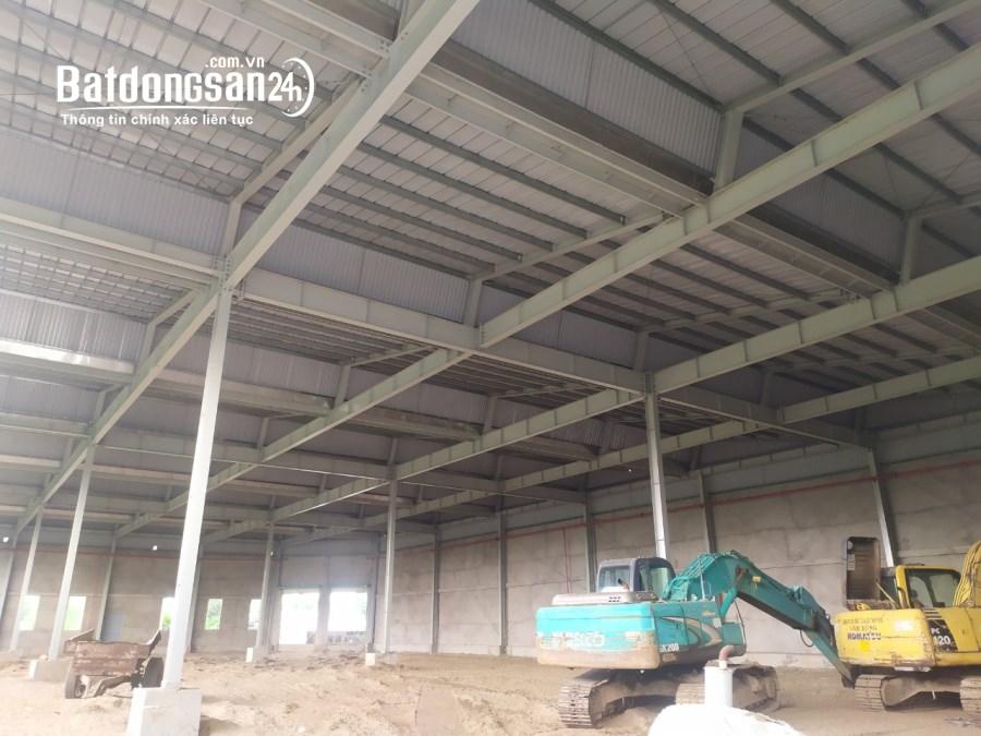 Cần cho thuê kho xưởng mới xây mặt tiền Nguyễn Hữu Trí, huyện Bến Lức, Long An