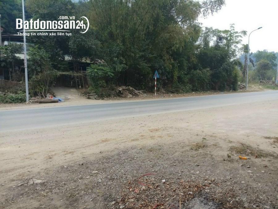 Bán đất tiềm năng bám mặt đường QL6 tại Lâm Sơn - Hòa Bình