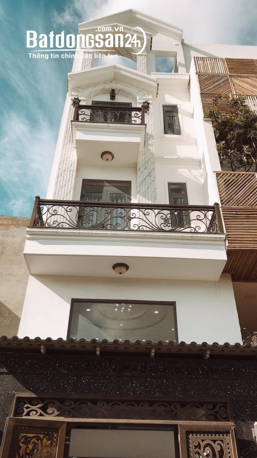 Nhà Bán,Đường Phan Huy Ích, Phường 14,GòVấp,Cạnh E-mart 2, 59m2, 5Tầng