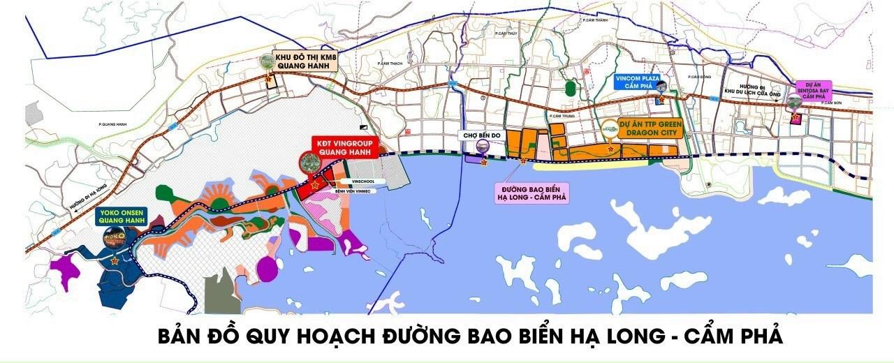 Bán đất nền ven biển TP Cẩm Phả - Quảng Ninh