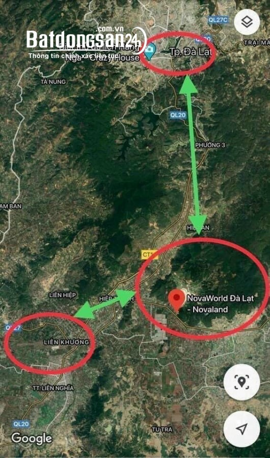 Bán đất nền 125m2-285m2 phân lô Xã Phú Hội, Huyện Đức Trọng