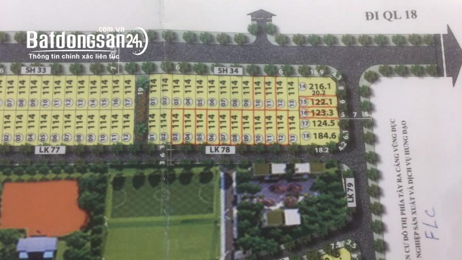 Bán đất nền sổ đỏ Green Dragon City, Đường Thanh Niên, Tp Cẩm Phả