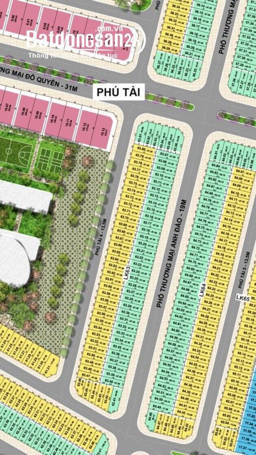Bán lô đất đường 19m, KĐT Tân Phú Hưng, 67.5m2, mt 4.5m, vỉa hè 5m, giá rẻ