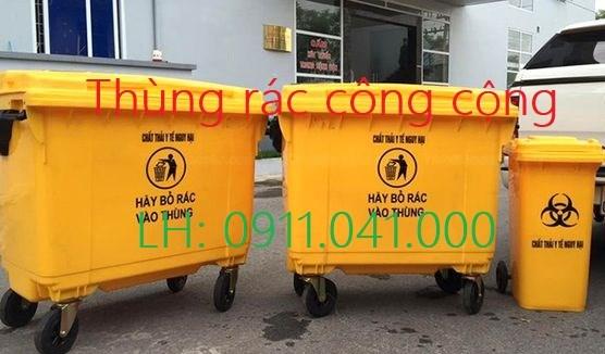 Khai trương thùng rác công công giá rẻ bất ngờ lh 0911.041.000