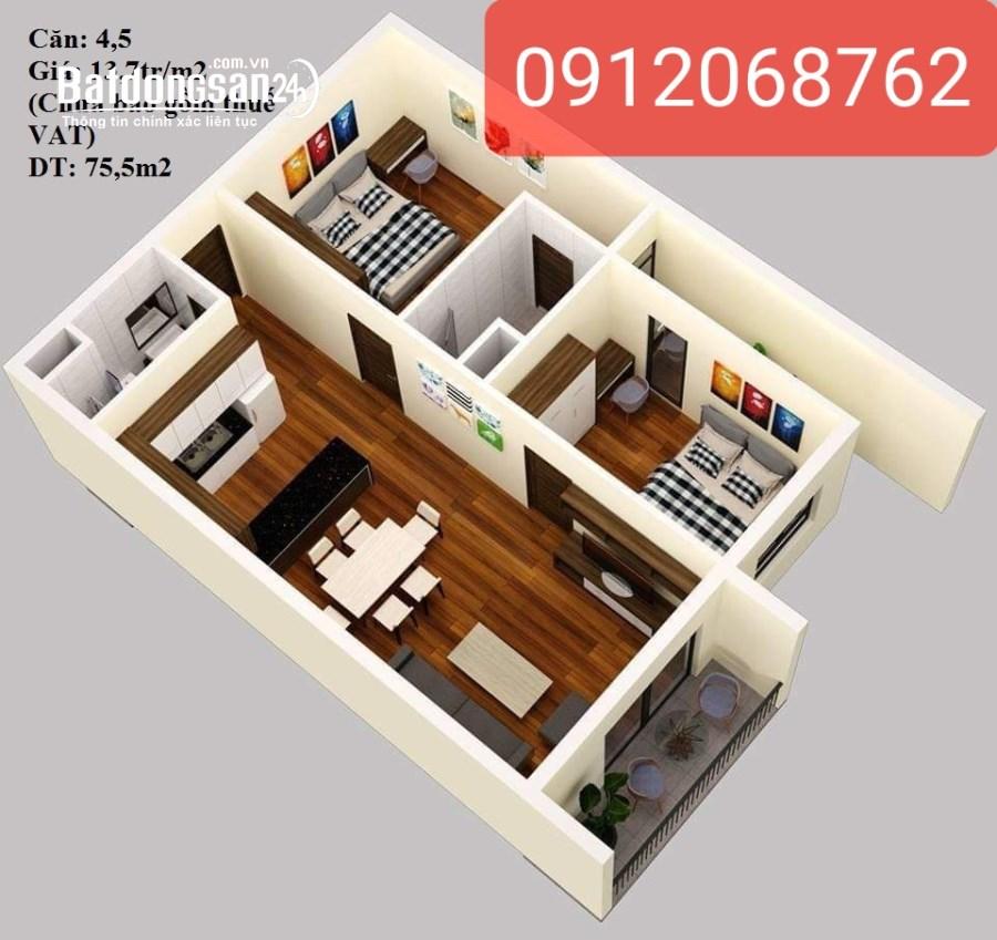 Bán căn hộ chung cư Đường Lý Thái Tổ, Phường Quang Trung, TP Thái Bình
