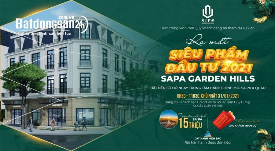 ''SaPa gaden hills'' chắc chắn không làm các nhà đầu tư thất vọng.