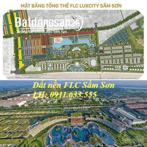 Bán đất liền kề, biệt thự LK 09 FLC Sầm Sơn Thanh Hóa
