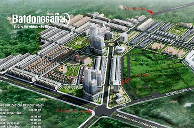 Bán đất nền phân lô Khu đô thị Vân Canh, Đường Tỉnh Lộ 422, Huyện Hoài Đức