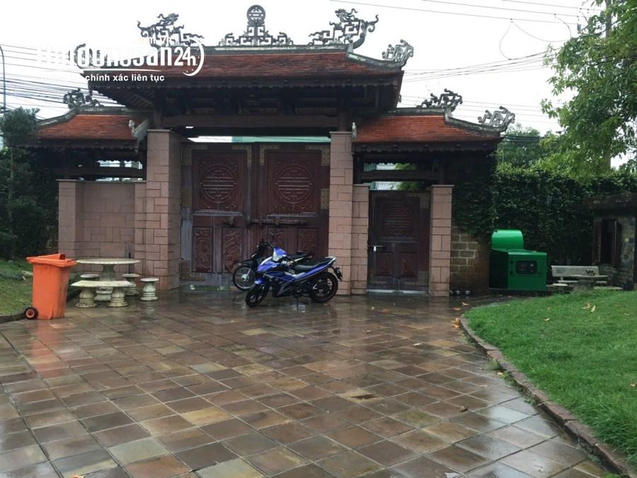 Cho thuê mặt bằng biệt thự mặt tiền đường Cầu Tàu, TP Thuận An, tỉnh Bình Dương