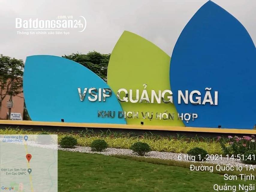 Khu Dịch Vụ Hỗn Hợp VSIP Quảng Ngãi Dự Án Thuộc Xã Tịnh Phong