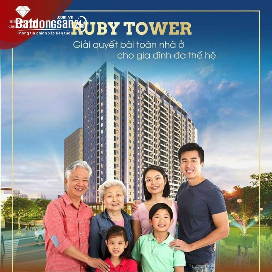 Bán căn hộ chung cư cao cấp Ruby tower 2PN - 2WC dọn vào ở ngay tại TP Thanh Hóa