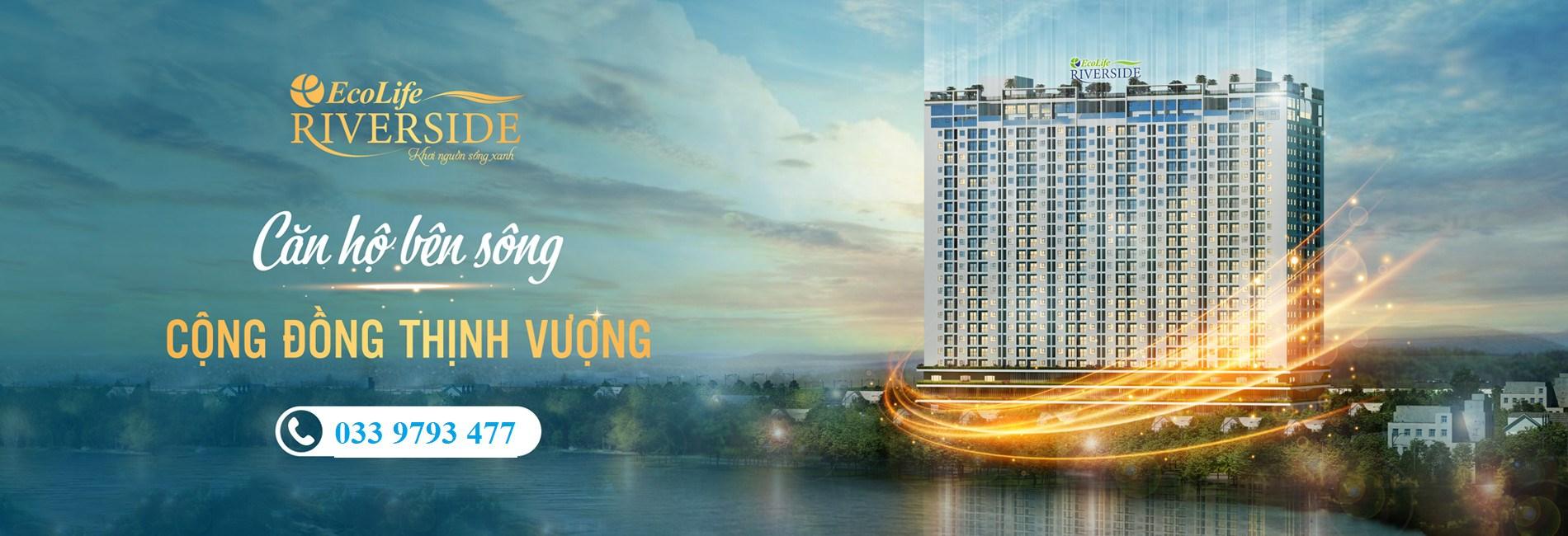 Chung cư Xanh Ecolife Riverside Quy Nhơn, Giá 1,2 Tỷ 2PN