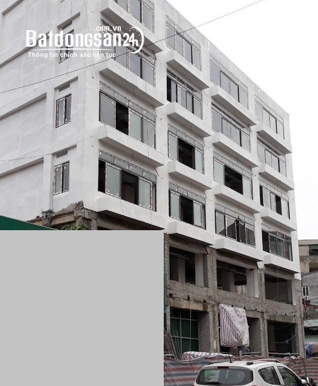 Bán nguyên cả tòa nhà TTTM phố Nguyễn An Ninh, hoàn thiện cơ bản