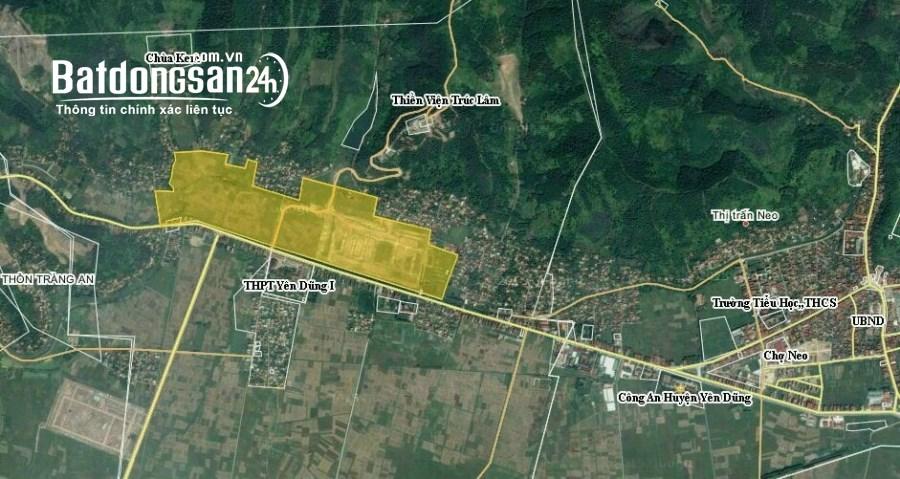 Bán đất Xã Nham Sơn, Huyện Yên Dũng