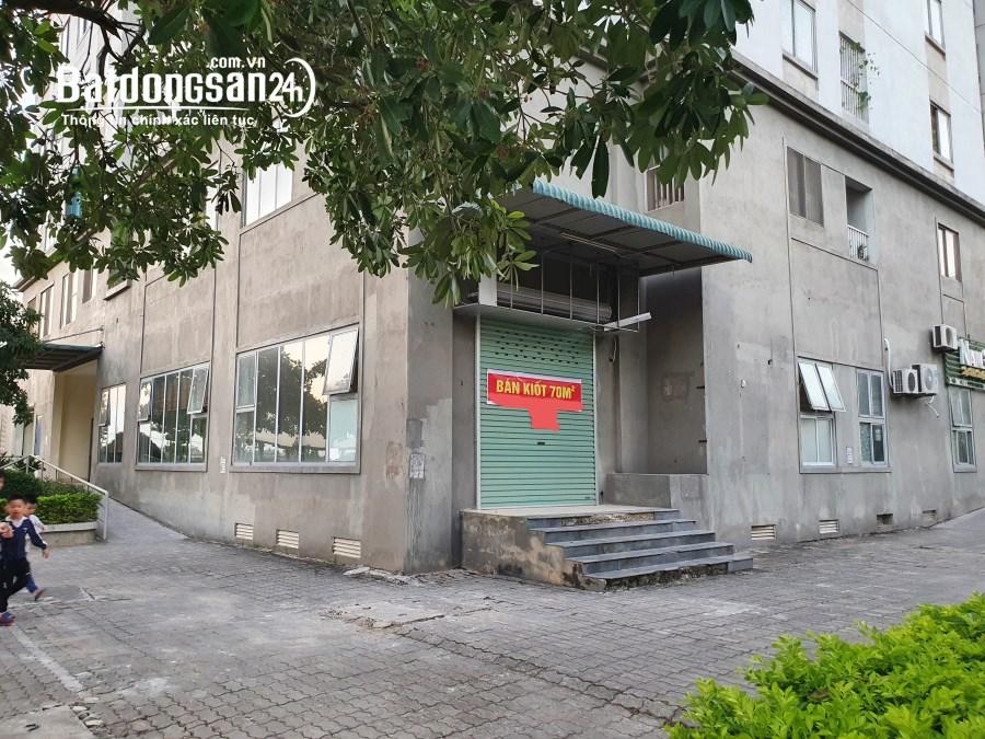 Bán / cho thuê chung cư góc tầng trệt Khu đô thị Kiến Hưng, Hà Đông