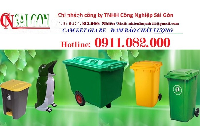 Chuyên cung cấp thùng rác 2 ngăn, 3 ngăn giá tốt