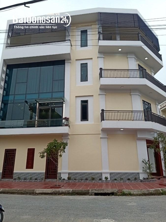 Bán nhà 4 tầng lô góc KĐT An Phú, TP Hải Dương, 4 ngủ, gara, giá tốt, khu trung