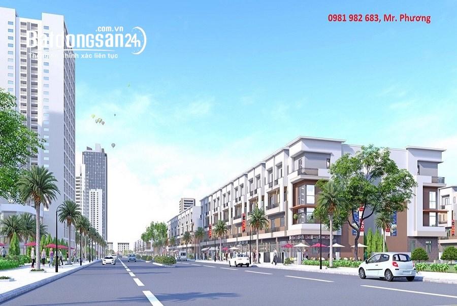 HOT!!!Nhà mặt phố 4 tầng cuối cùng chân chung cư centa VSIP Bắc Ninh