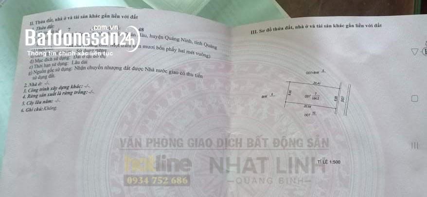 Bán đất Quán Hàu, cách đường Hà Văn Cách chỉ 30m, 9 x 20m, full xd, giá tốt