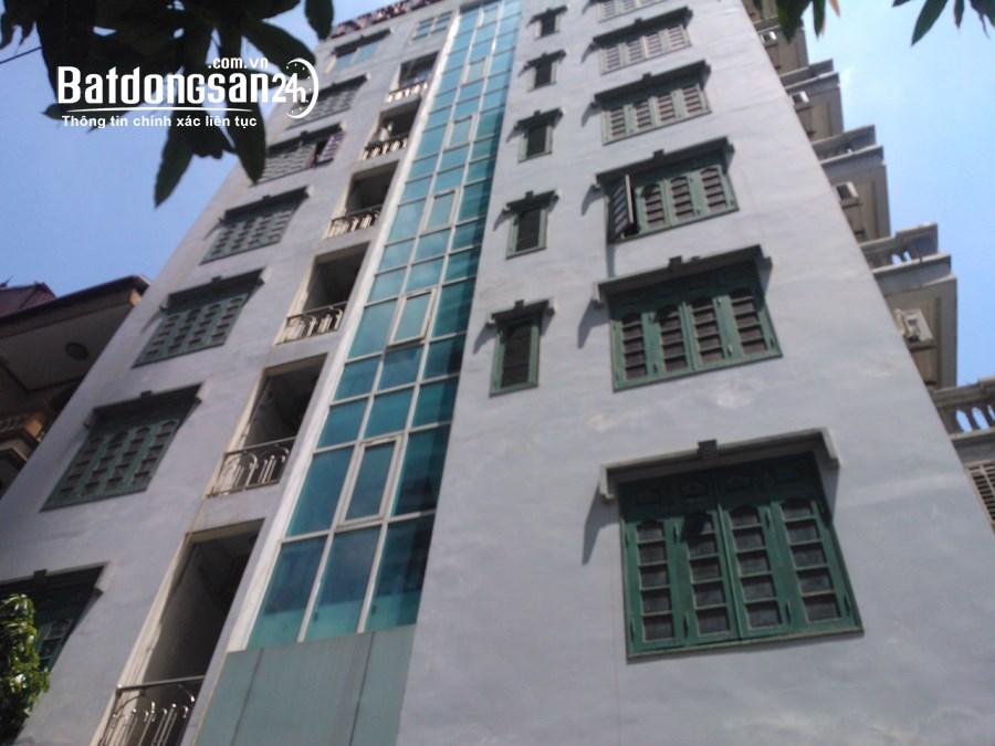 Bán tòa nhà hiện đang làm khách sạn, 88m2 x 9 tầng. Khuất Duy Tiến