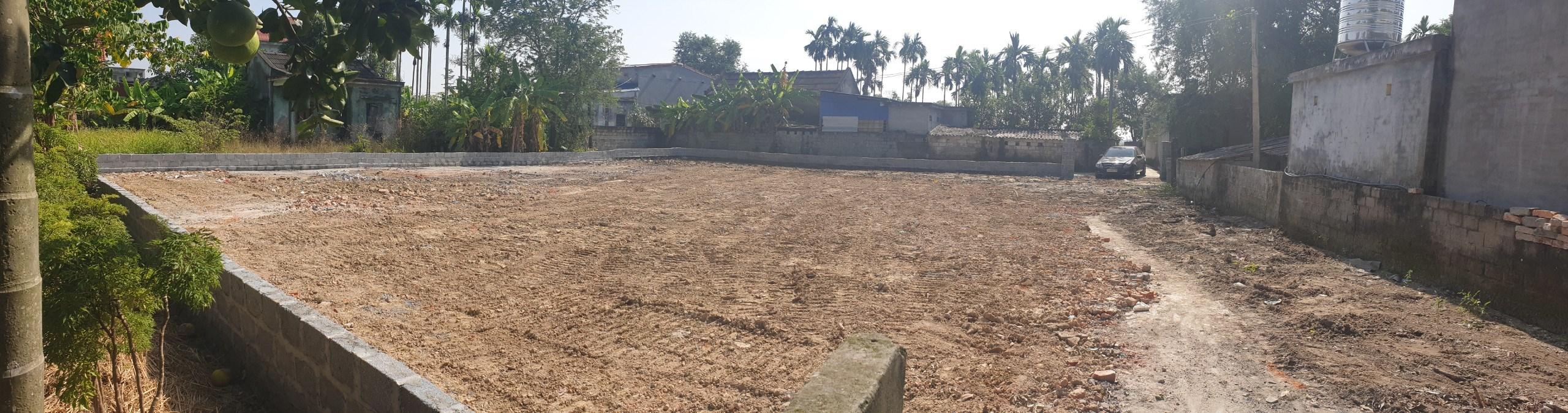 Bán lô đất đẹp 2 đầu ngõ thôn Hà Đậu, xã Hồng Phong, An Dương, SĐCC