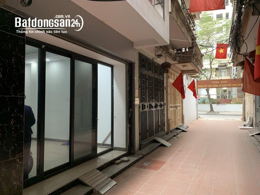 Quận Thanh Xuân:Cho thuê tòa nhà văn phòng 40m2x7 tại Lê Văn Thiêm