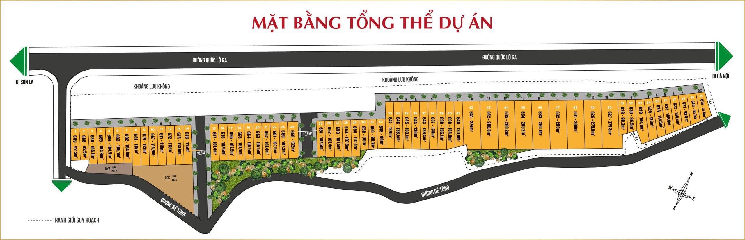 Dự án mặt đường quốc lộ 6 phường Kì Sơn Hòa Bình siêu lợi nhuận