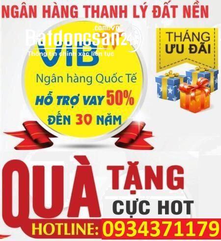 Ngân Hàng Quốc Tế VIB ( hổ trợ ) thanh lý 19 nền đất ngay aeon Bình Tân