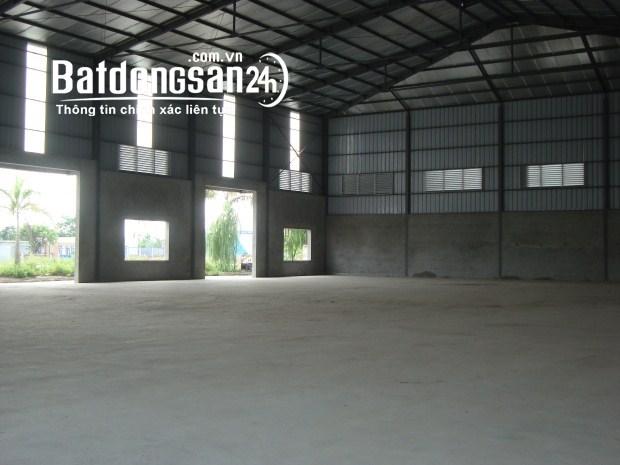 Cho thuê nhà xưởng 1000 m2 khu phường Thắng Tam TPVT.