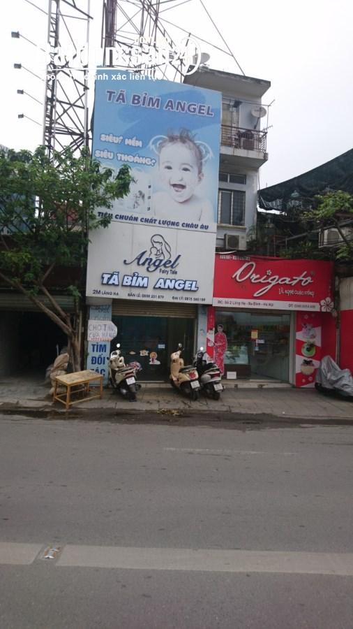 Chính chủ cần cho thuê nhà mặt phố Láng Hạ, quận Ba Đình Hà Nội