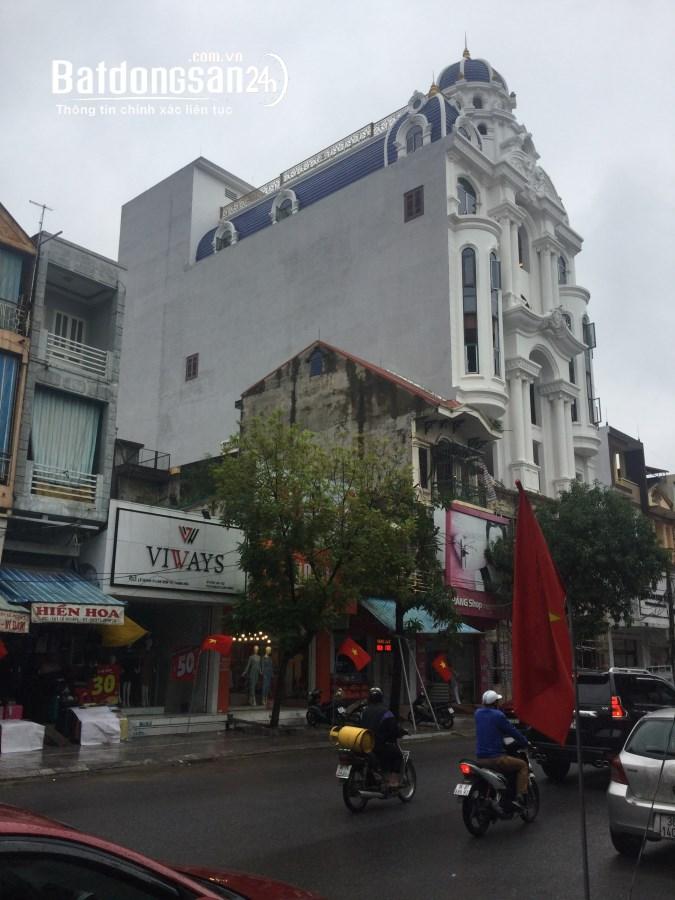 Cho thuê lâu dài nhà nguyên căn 4 tầng, mặt phố Lê Hoàn, phường Lam Sơn