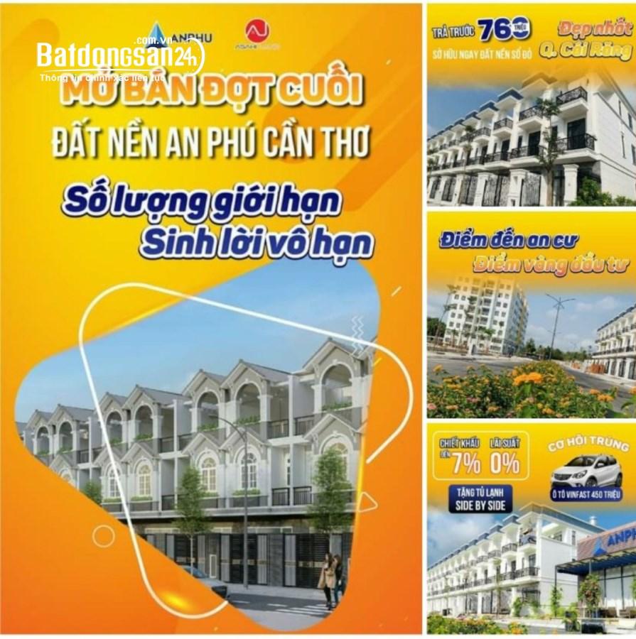 Bán Bất động sản khác KĐT An Phú Cần Thơ, Đường Lê Hồng Nhi, Quận Cái Răng