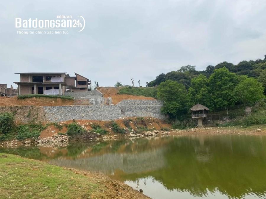 Bán lô đất view mặt hồ Ba Khoang tại Cư Yên - Lương Sơn - Hòa Bình