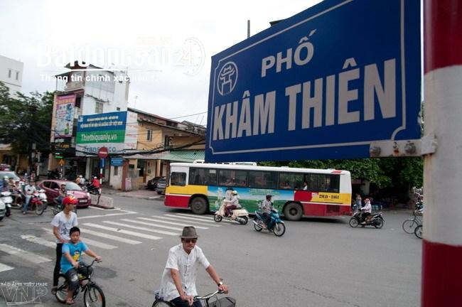 Bán nhà mặt phố Khâm Thiên, gần Xã Đàn. Nhà xây 7 tầng. Thang máy hiện đại