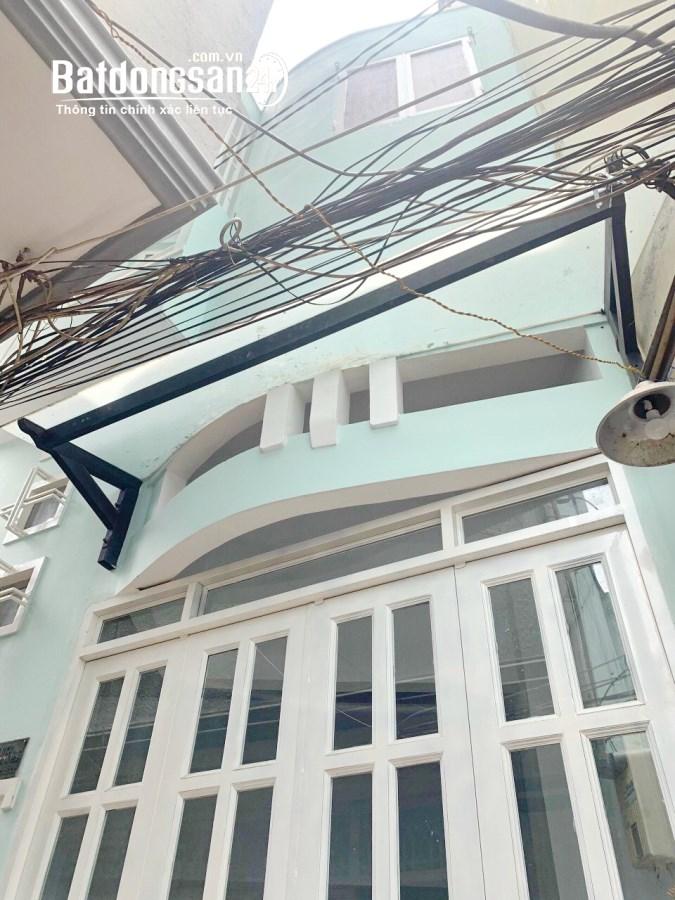 Bán nhà mới 1 lầu hẻm 125 đường Nguyễn Thị Tần Phường 2 Quận 8