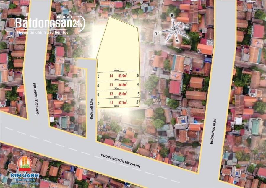 Bán đất nền phân lô Đường Nguyễn Tất Thành, Phường Phú Bài, Thị xã Hương Thuỷ