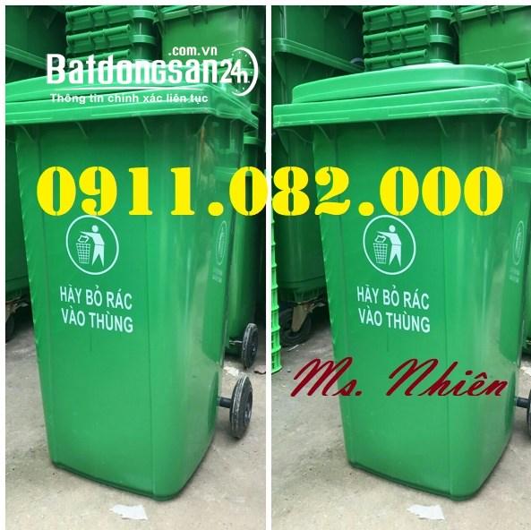 Thùng rác giá rẻ hàng đầu việt nam- thùng rác 120L 240L 660L giá rẻ