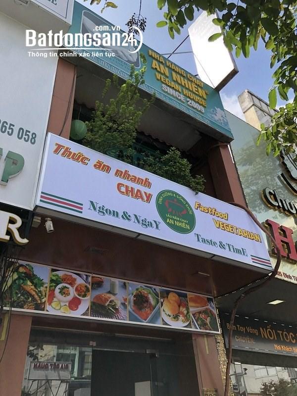 Cho thuê nguyên căn kd quán ăn ngay cầu Kiệu, đường Đinh Tiên Hoàng, Q.1 DT 4x23