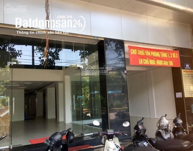 Cho thuê  VP 50m tại 62 Đường Yên Phụ, giá rẻ