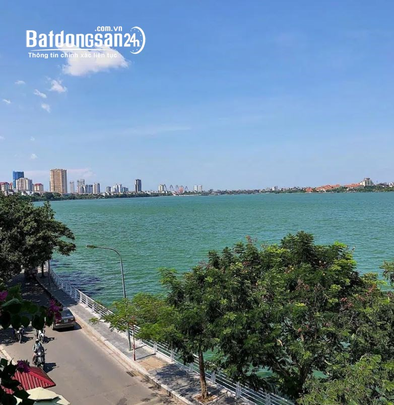 Bán nhà mặt phố Trích Sài,mặt Hồ Tây 5 tầng DT42m2, giá 18.7 tỷ