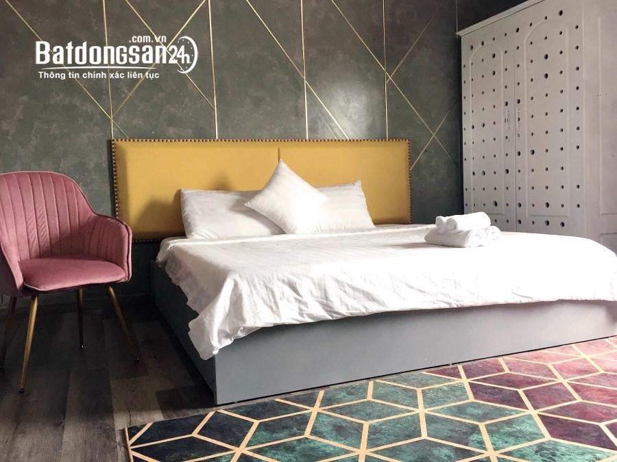 Cho thuê gấp khách sạn mới xây đường Hoàng Hoa Thám, Phường 2