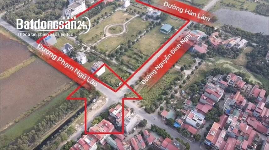 Đất nền dự án Phân Lô Phường Hồng Châu TP Hưng Yên.