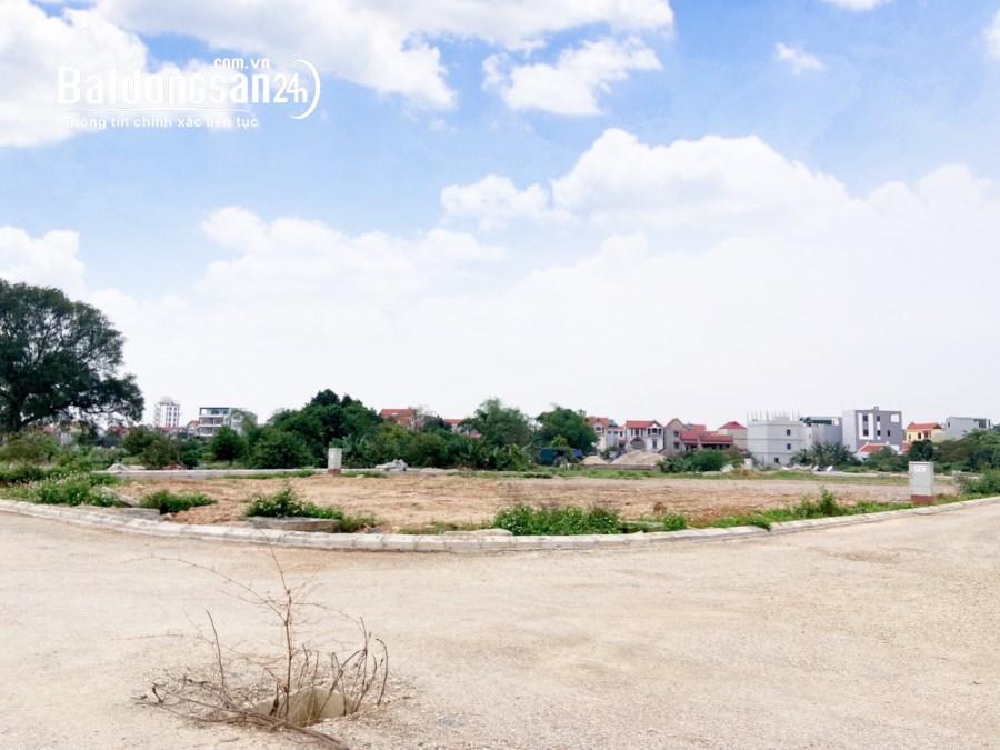 Bán lô đất dịch vụ khu 25ha Vân Canh giá chỉ 53 triệu