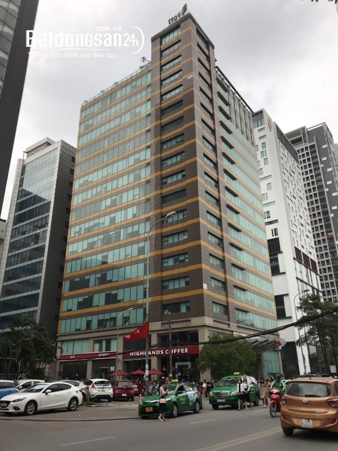 Cho thuê văn phòng chuyên nghiệp 100m2 đến 700m2 tại tòa TTC,Duy Tân. 0909300689