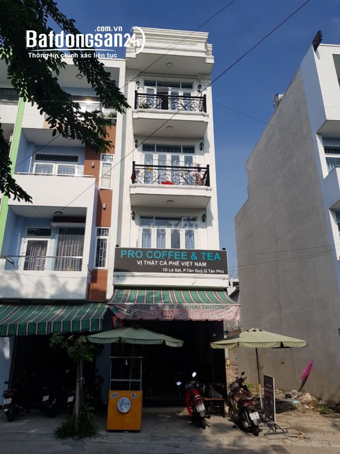 Cho thuê nhà mặt tiền nguyên căn Quận Tân Phú