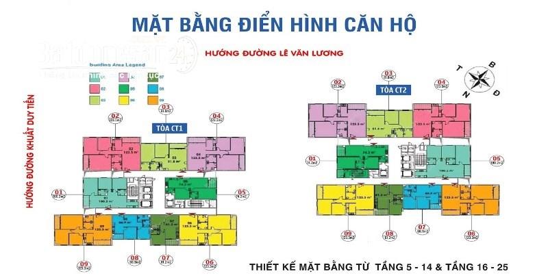 Bán căn hộ chung cư Ban Cơ Yếu Chính Phủ, Đường Lê Văn Lương, Quận Thanh Xuân