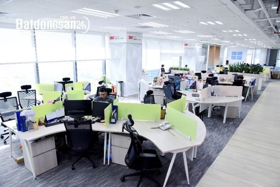 Cho thuê VP Building Hạng B DT 100 - 1000m2 tại Phạm Hùng. Giá 168.000vnđ/m2