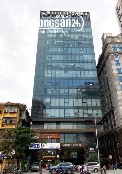 0909300689.Cđt mời thuê văn phòng 185m2,300m2 tòa Detech II,Nguyễn Phong Sắc