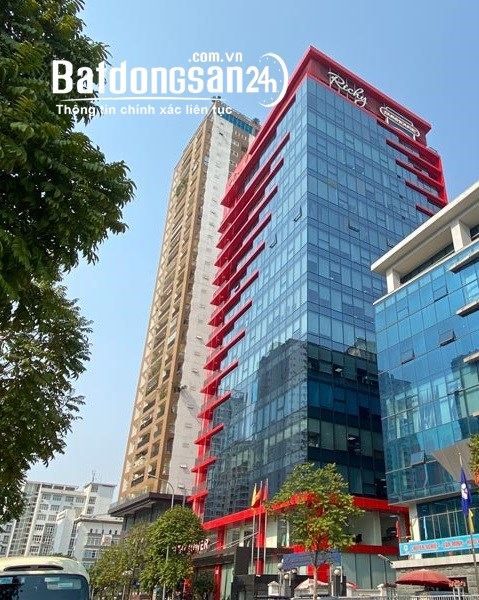 Giá tốt cho thuê văn phòng 154m2, 399m2 tại tòa Richy, Mạc Thái Tổ. 0909300689